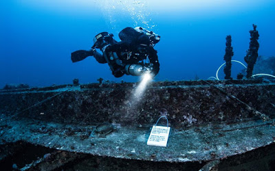 Oι υποβρύχιοι θησαυροί της Κέας