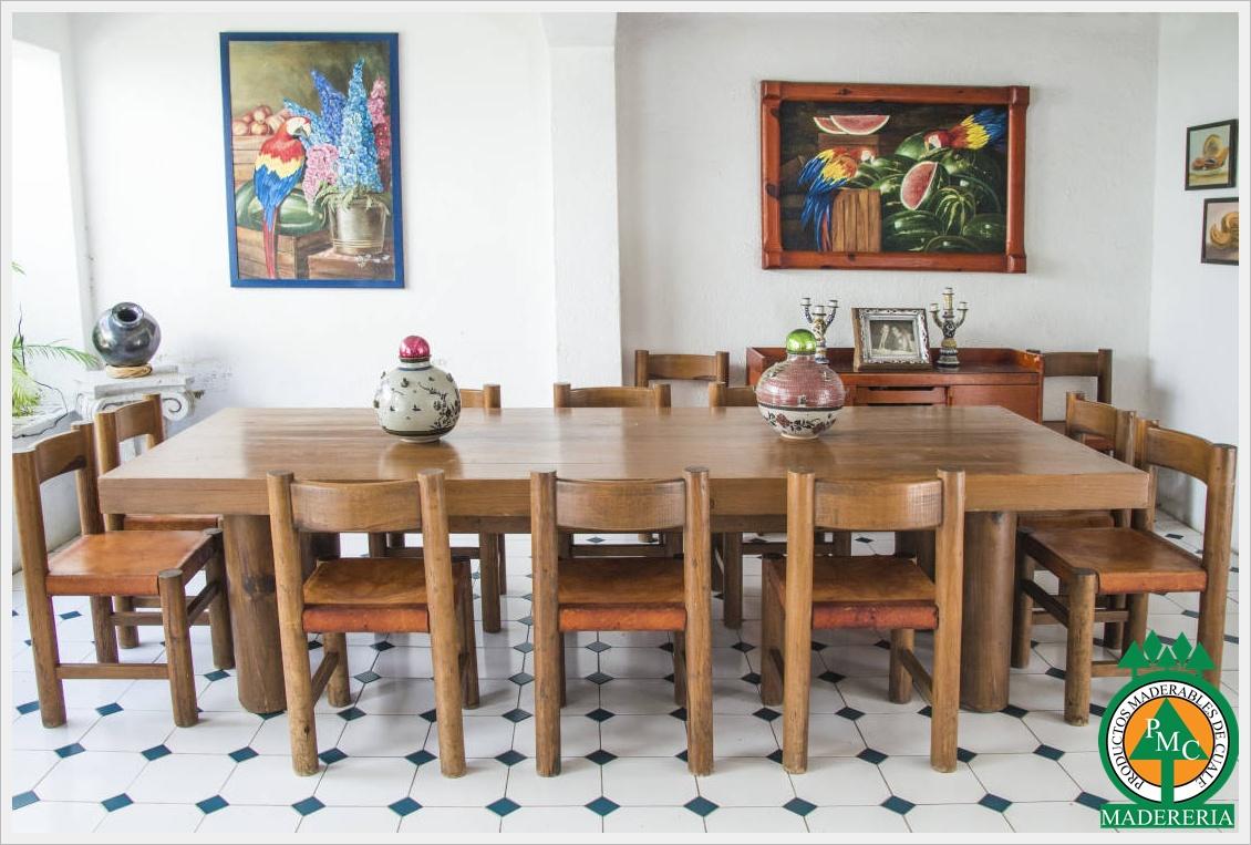 Productos maderables de cuale 10 mesas de madera for Mesas de madera modernas