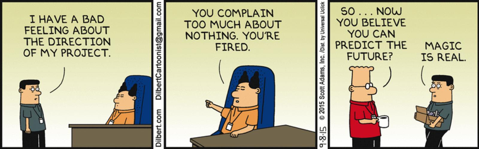 Dilbert sexual harassment cartoons