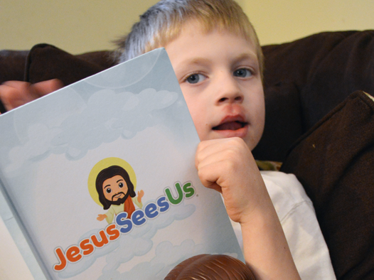 Teaching Kids About Jesus: A Jesus Sees Us Review {+ Discount Code} #JesusSeesUs