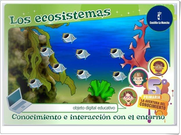 """""""Los ecosistemas"""" (Aplicación interactiva de Ciencias Naturales de Primaria)"""