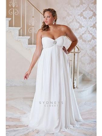 Shoes Older Bride Plus Size Wedding Gown Strapless Empire Waist