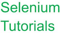 selenium-testing-tutorials