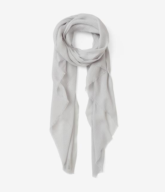 grey all saints scarf