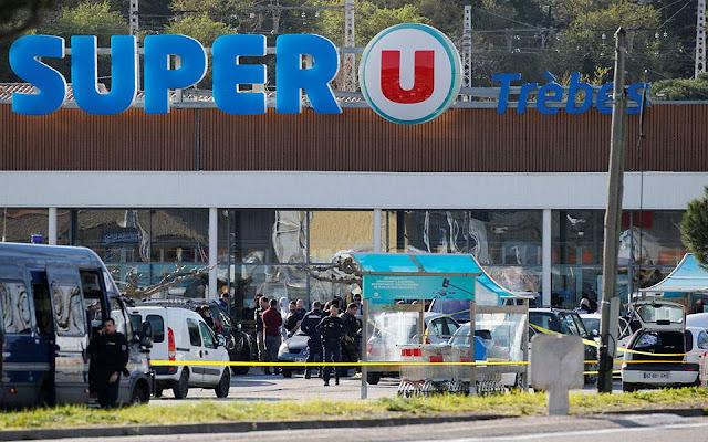 Ομηρία σε σούπερ μάρκετ στη Γαλλία - Δύο νεκροί - Το Ισλαμικό Κράτος ανέλαβε την ευθύνη (βίντεο)