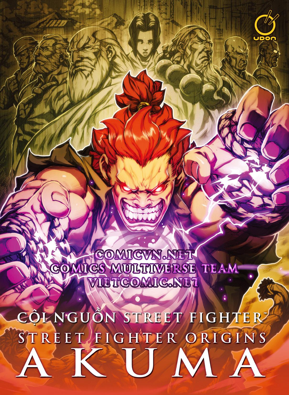 Street Fighter Origin Chap 1 - Next Chap 2