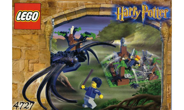 Lego 75950 - Harry Potter: Aragog with Harry Potter and Ron Weasley