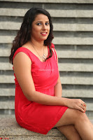 Shravya Reddy in Short Tight Red Dress Spicy Pics ~  Exclusive Pics 113.JPG