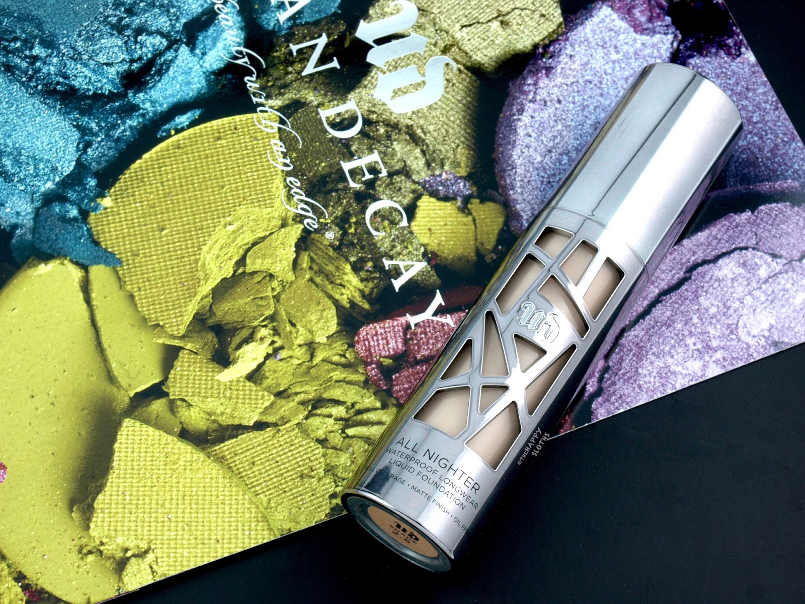 "Urban Decay All Nighter Liquid Foundation in ""Shade 2.5"": Review and Swatches"