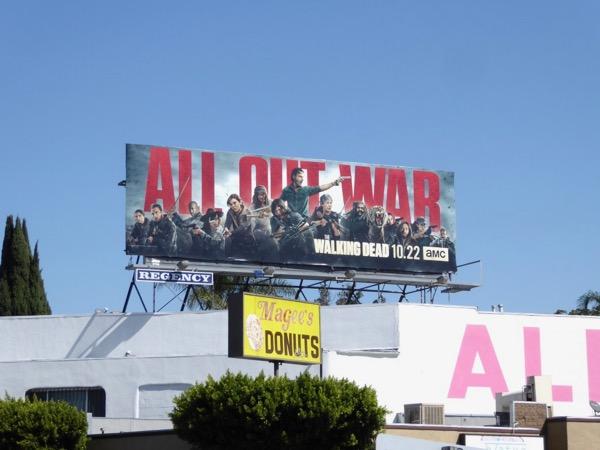 Walking Dead season 8 billboard