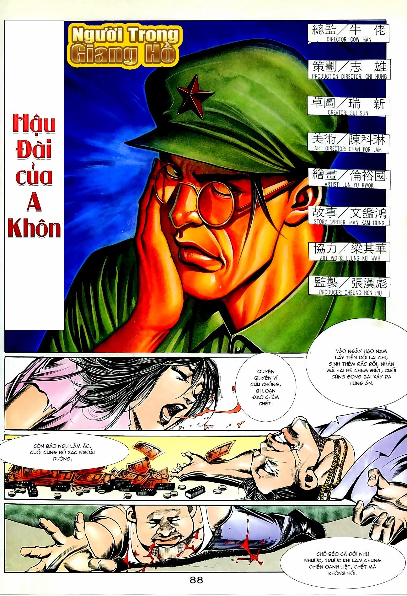 Người Trong Giang Hồ chapter 87: chống lưng của a khôn trang 2