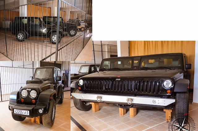 jeeps modificados del Morocco National Auto Museum