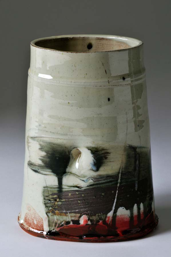 Ceramic abstract expressionism barry stedman clementina ceramics