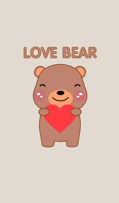 I Love Bear theme Vr.2