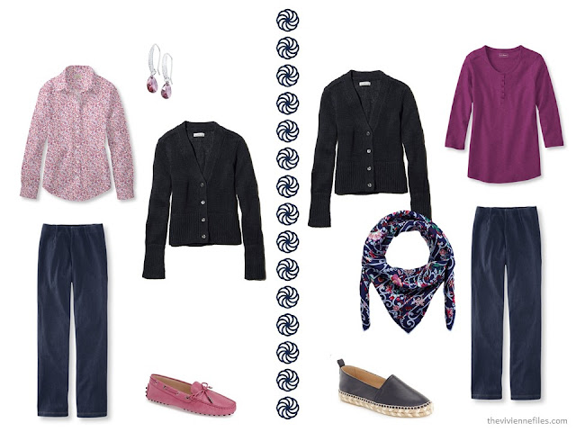 How to Wear A Navy Cardigan for Spring - 8 Outfits!