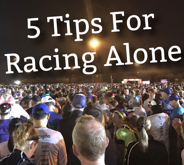 racing running alone solo racing tips