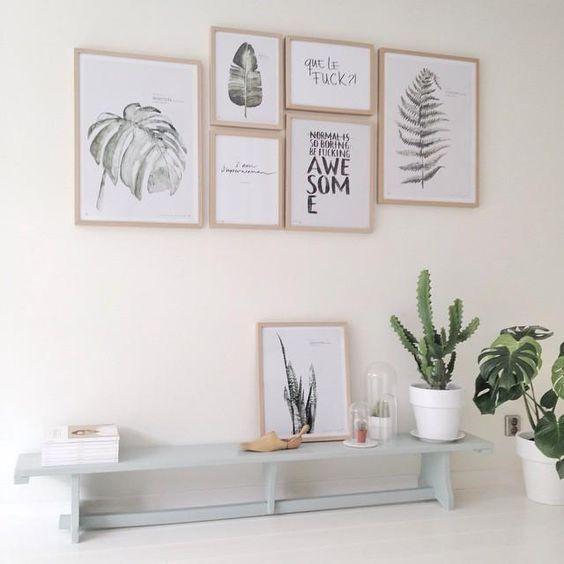 Láminas bonitas para dar vida a tus paredes