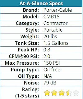 porter cable air compressor 150 psi manual