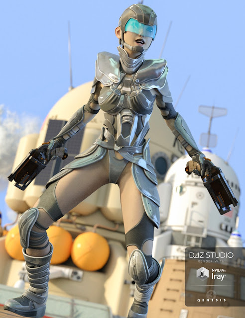 Hesper Outfit for Genesis 3 Female