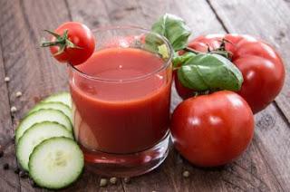 Cara Diet Sehat dan Cepat Alami Dengan Jus Timun dan Tomat