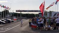 Robert Kubica kibice Hungaroring F1