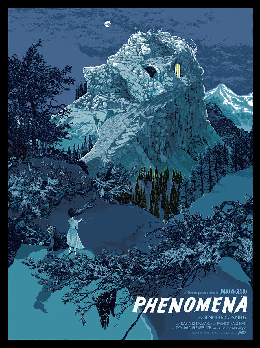 Inside The Rock Poster Frame Blog Mondo Texas Frightmare