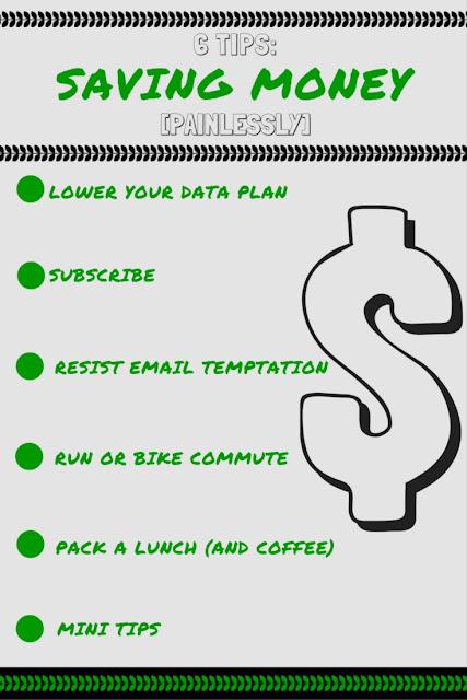 Six Tips: Saving Money [Painlessly]