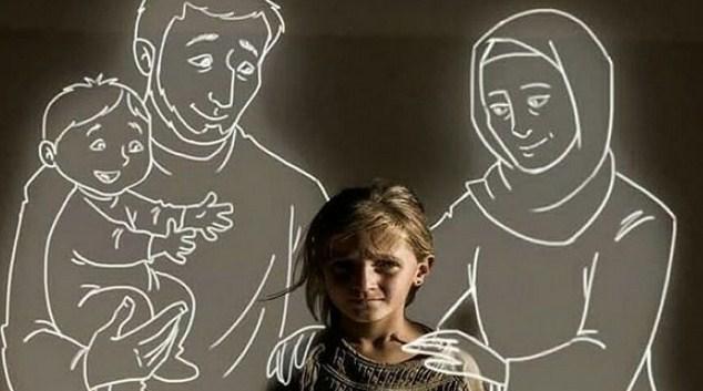6 Foto Imajinasi Anak Yatim Piatu Bikin Nangis