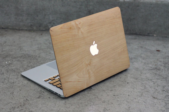 on sale 30dc2 ddb70 from Gardners 2 Bergers: DIY Weathered MacBook Wood Case