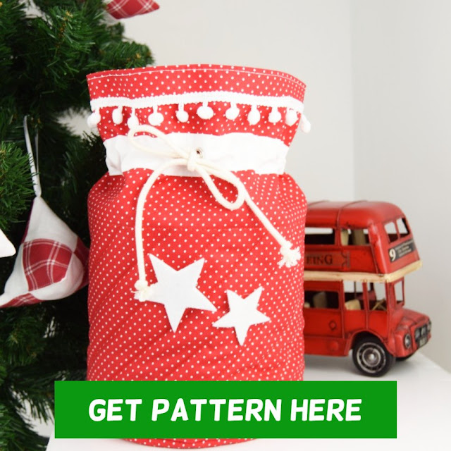 santa sack sewing tutorial