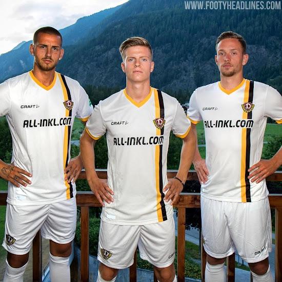 Craft 2018 2019 Away Dynamo Dresden SGD Maillot de Football pour Homme