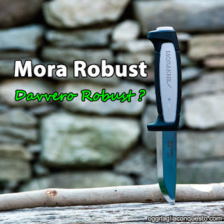 Mora Robust knife