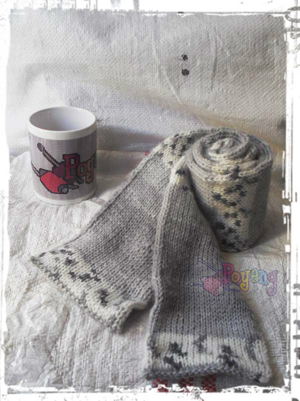 Ajeng Belajar Merajut: Rajut Free Knitting Pattern : Simple Tubular Scarf