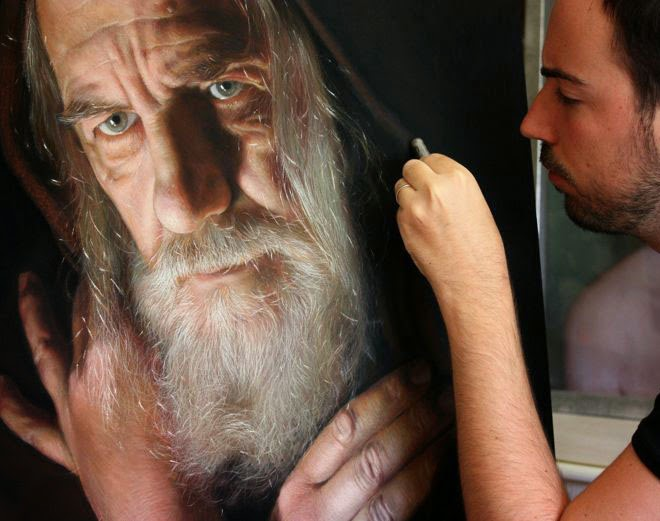Awesome and Mind Blowing Hyper Realistic Pastel Paintings By Ruben Belloso