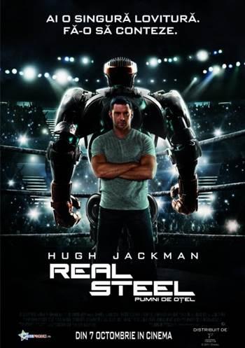 Real Steel – Pumni de otel In Romana Online