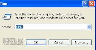 cara mengembalikan data dalam flashdisk yang berubah menjadi Shortcut