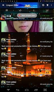BBM Mod Ramadhan v2.13.1.14 APK Clone 2016