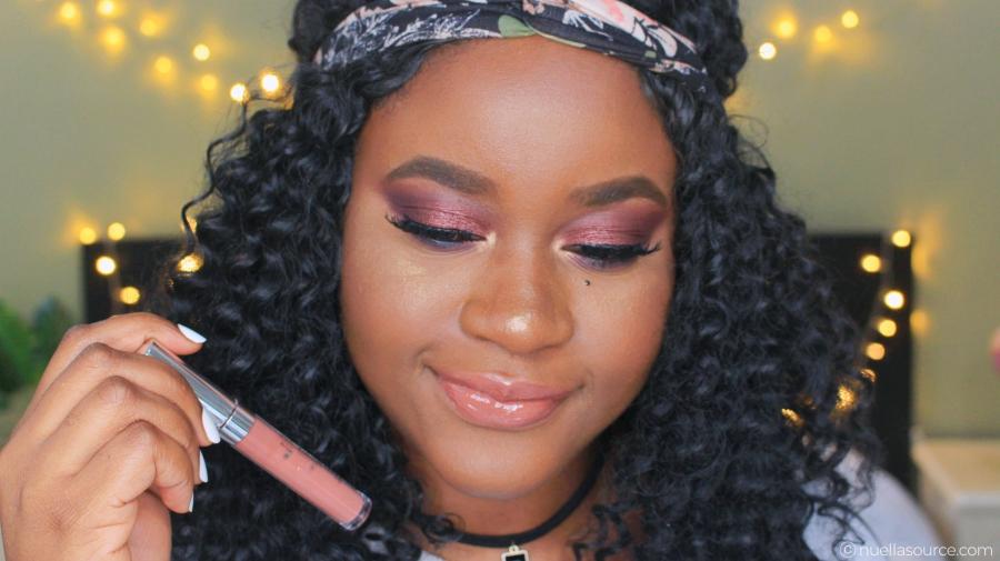 Colourpop ultra glossy lip ellarie netta on woc