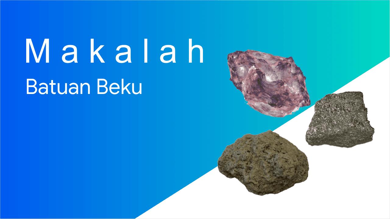 Tentang batuan beku