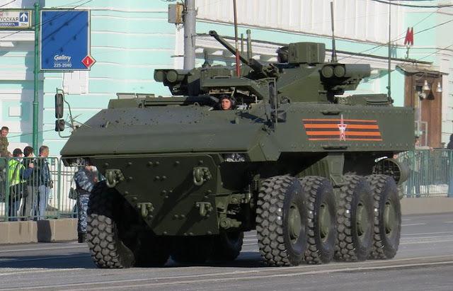 Броневая машина пехоты К-17 «Бумеранг».
