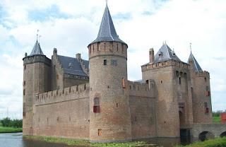 Castles near Amsterdam - Muiderslot, Muiden