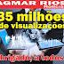 Blog Agmar Rios ultrapassa a marca de 35 milhões de visualizações