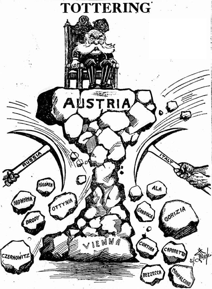 Berge's Cartoon Blog: All Noise on the Eastern Front