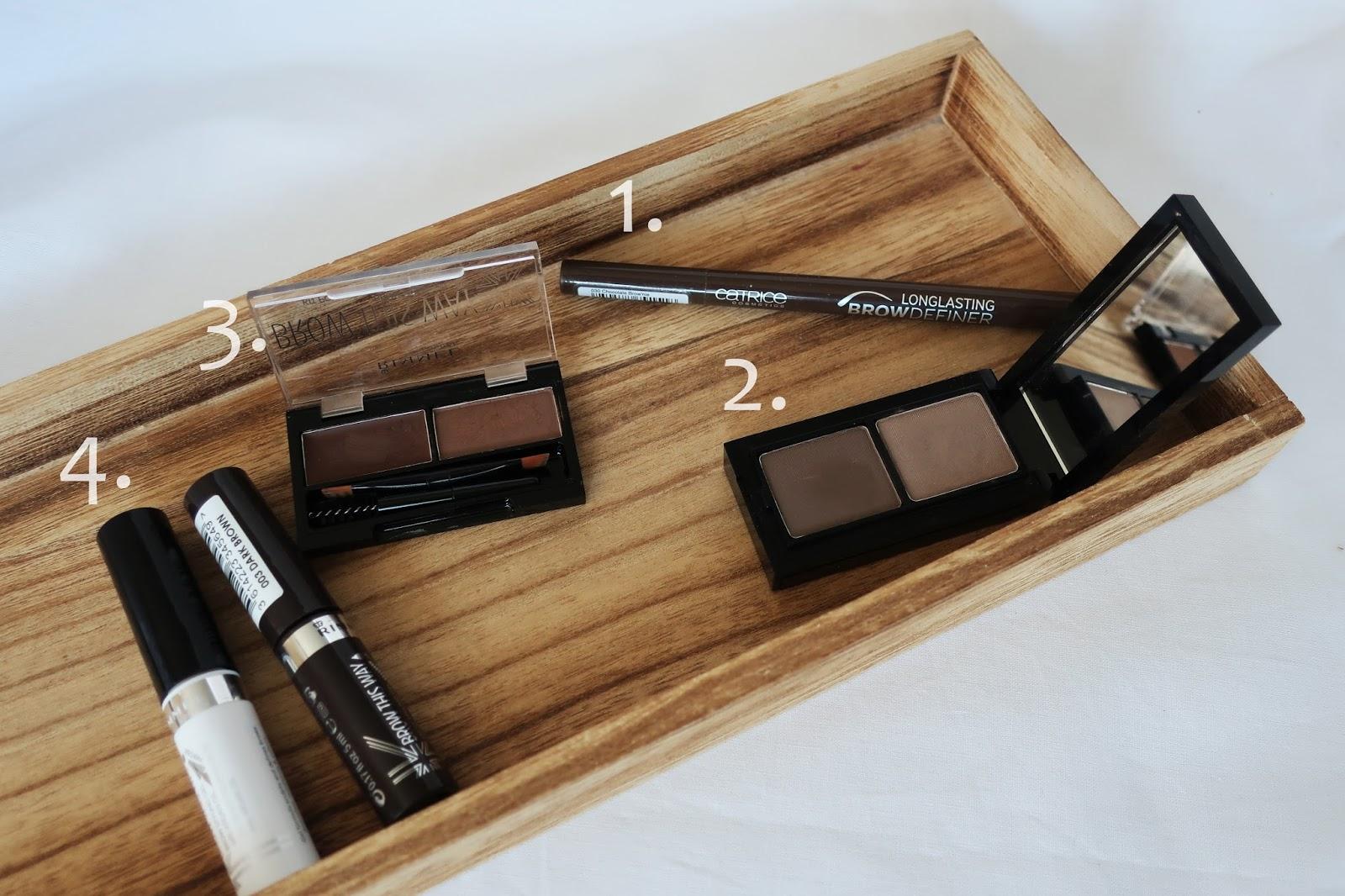 Catrice / Rimmel kosmetyki do makijażu brwi