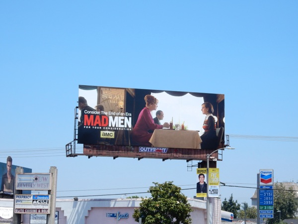 Joan Peggy Mad Men 2015 Emmy billboard