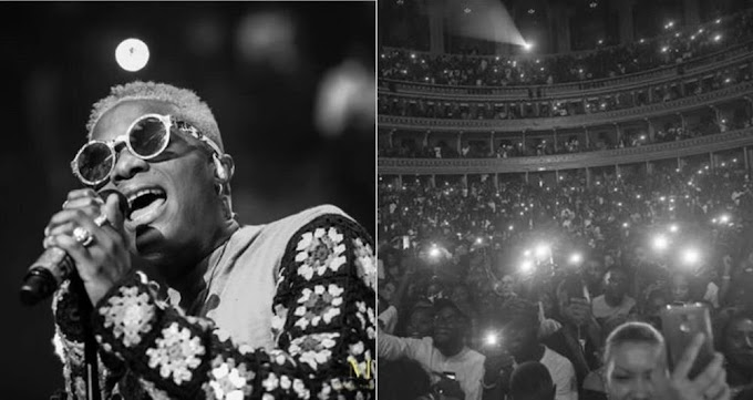 Lit! Wizkid Makes History, Becomes The First African Artiste to Perform in a Sold Out Concert in UK [Photos/Video]