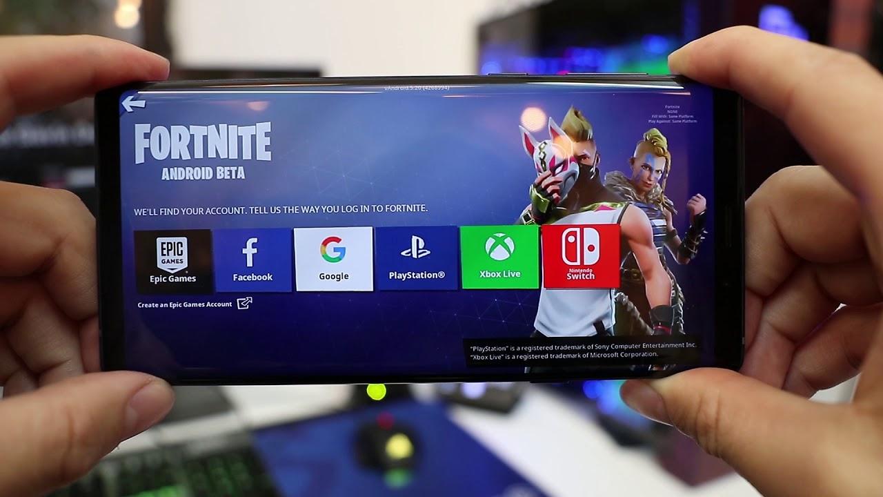 Cara Menginstall Fortnite Battle Royale di Semua Android