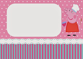 Peppa Pig Cooking Free Printable Kit.