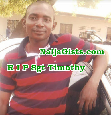 mobile policeman killed colleague madagali adamawa