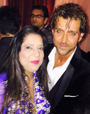 Hrithik Roshan in  Kunal Kapoor & Naina Bachchan Wedding Reception